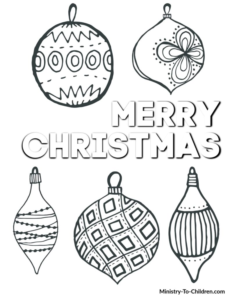 Christmas Coloring Pages Long Room
