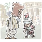 faith of the centurion luke 7:1-10 Sunday School Lesson