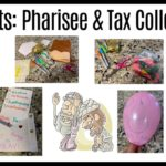 Pharisee and Tax Collector Bible Crafts