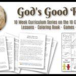 Gods Rules Ten Commandments for Kids Lesson Study