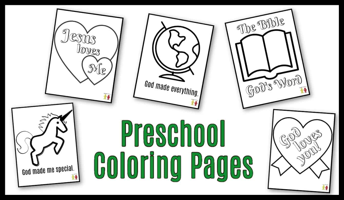 Preschool Coloring Pages Easy Pdf Printables Ministry To Children