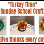 Thanksgiving turkey crafts for children's ministry and sunday school