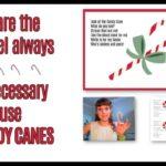candy cane children's sermon