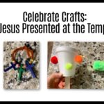 Sunday School Crafts - Jesus presented at the temple