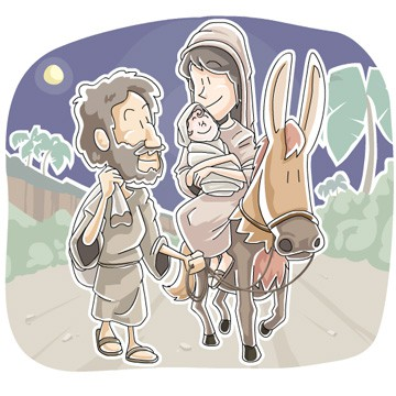 mary and joseph sunday school lesson