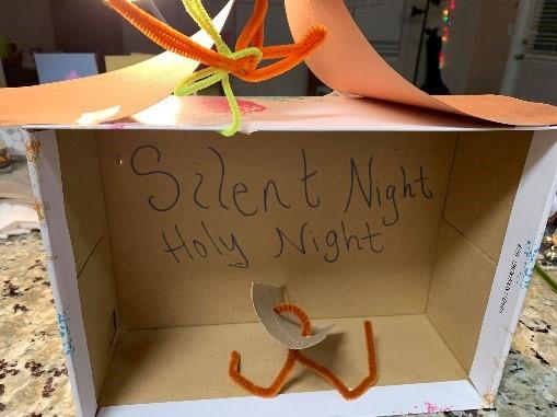 Silent Night Craft for Nativity