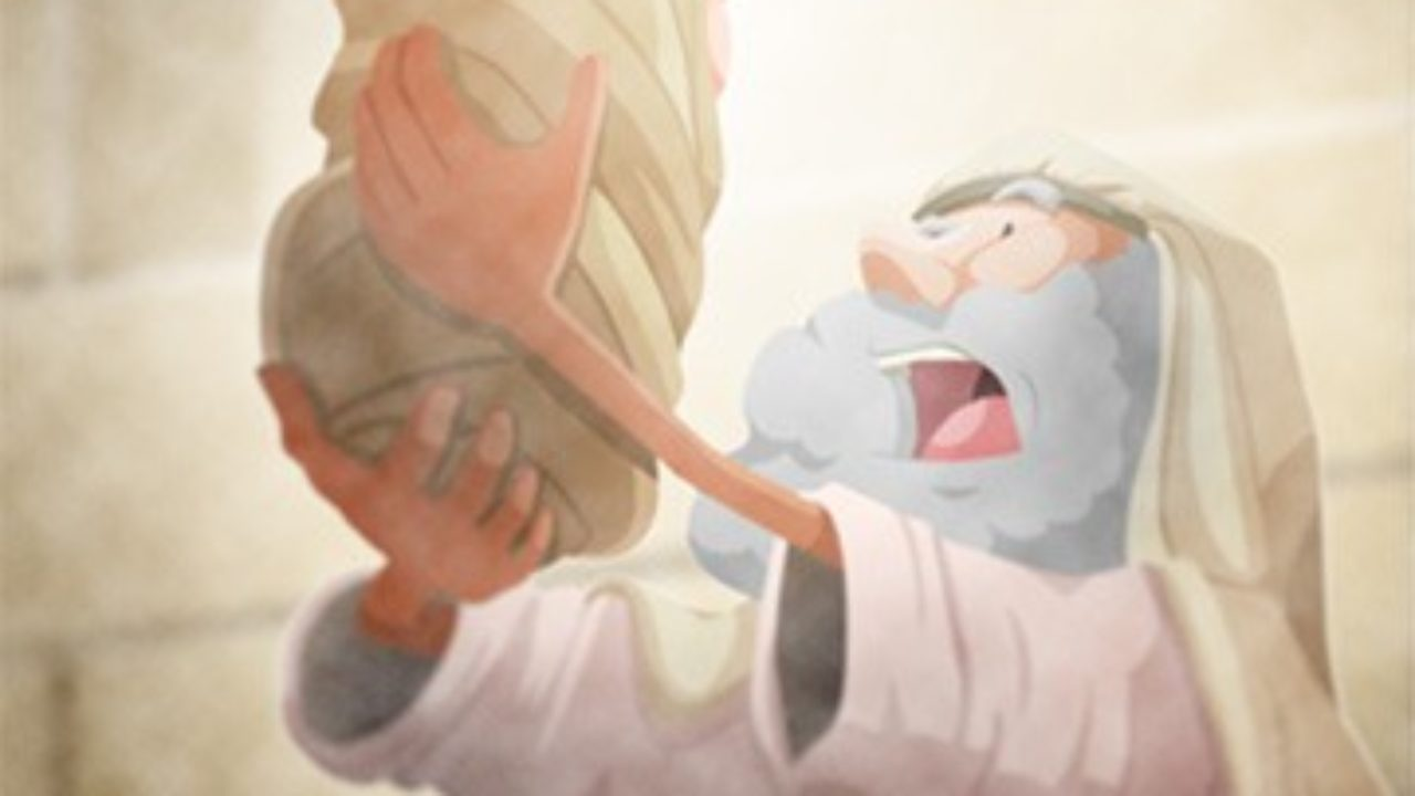 Sunday School Lesson (Luke 2:22 40) Simeon and Anna Rejoice