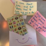 "Craft one: ""Sharing and Caring Envelopes"" (Homemade stationary)"