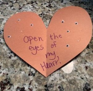 "Craft Two: ""The Eyes of the Heart"""