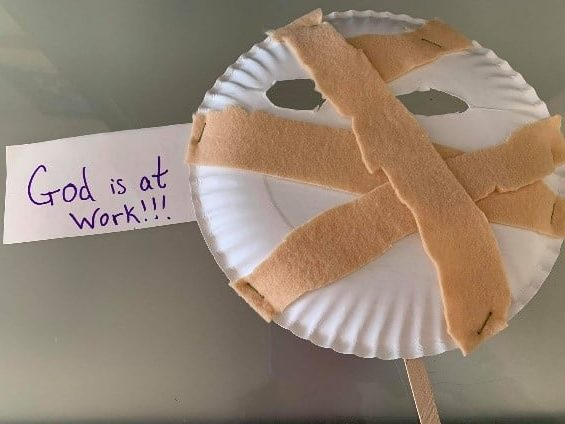 Lazarus crafts for Sunday School